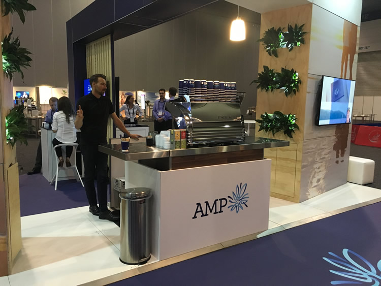 Exhibition Stand Coffee : How to increase traffic to your exhibition stand corporate event